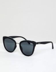 Quay Australia My Girl Cat Eye Sunglasses In Black - Black