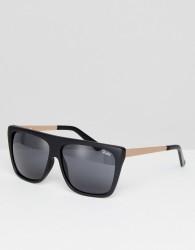 Quay Australia OTL II Square Sunglasses In Black - Black