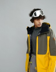 Quiksilver Ambition Ski Jacket in Solar Power - Yellow