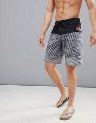 Quiksilver Fluid Force Swim Shorts in Black - Black