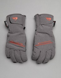 Quiksilver Freefall Ski Gloves in Grey - Grey