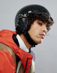 Quiksilver Fusion Ski Helmet in Black - Black