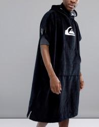 Quiksilver Hoody Towel In Black - Black