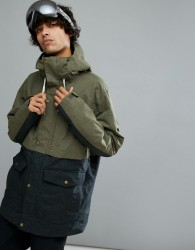Quiksilver Horizon Ski Jacket in Khaki - Green