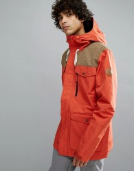 Quiksilver Raft Ski Jacket in Ketchup Red - Red