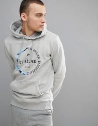 Quiksilver Revenge Hoodie In Grey - Grey