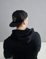 Quiksilver Turnstyles Trucker Cap In Black - Black