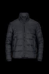 Quiltet jakke med dun-touch