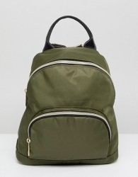 Qupid Backpack With Front Pocket - Green