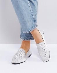 Qupid Flat Stud Shoe - Grey