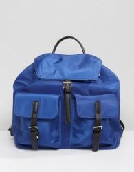 Qupid Multi Pocket Backpack - Navy