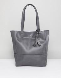 Qupid Shopper Bag - Grey