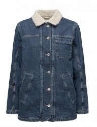 R1. The Denim Shearling Jacket