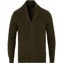 rag & bone Cardiff Shawl Cardigan Army Green