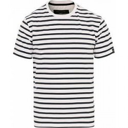 Rag & Bone Henry Striped Tee White/Navy