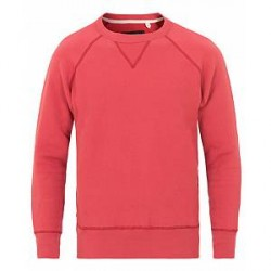 Rag & Bone Racer Sweatshirt Washed Red