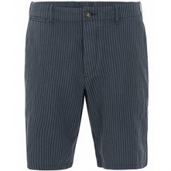 Rag & Bone Striped Beach Shorts 2 Navy/White