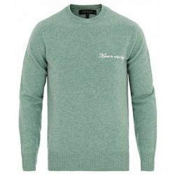 Rag & Bone Victor Lambswool Crew Sea Foam Green