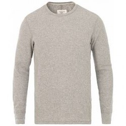 Rag & Bone Waffle Long Sleeve Tee Heather Grey