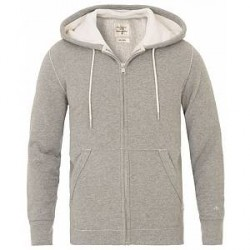 Rag & Bone Zip Hoodie Heather Grey