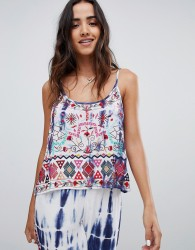Raga Catching Waves Printed Cami - Multi