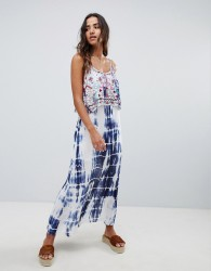 Raga Catching Waves Tie Dye Maxi Dress - Multi
