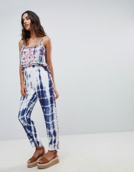 Raga Catching Waves Tie Dye Trousers - Multi