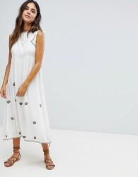 Raga Chasing The Sun Midi Dress - White