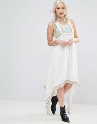 Raga Coastland Waterfall Maxi Dress - Blue