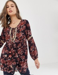 Raga Enchanted Garden printed tunic dress - Multi