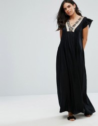 Raga Moonlit Dance Maxi Dress - Black