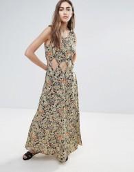 Raga Nocturnal Affair Cut Out Maxi Dress - Multi