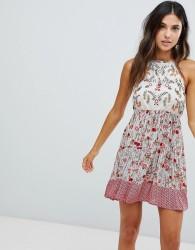 Raga Primrose Floral Print Dress - Pink