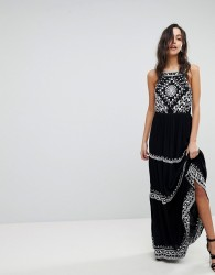 Raga Pyramids Of Geeza Maxi Dress - Black