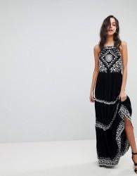 Raga Pyramids Of Geeza Maxi Dress - Black