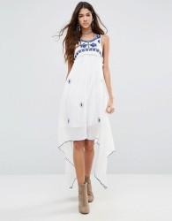 Raga Santorini Waterfall Dress - White