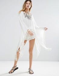 Raga Sedona Maxi Flared Sleeve Top - White