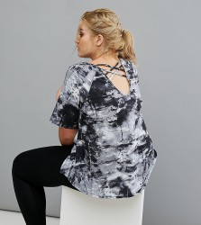 Rainbeau Curve Lila Printed Tee - Multi