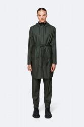 Rains Belt Jacket - Green