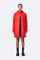 Rains Dame Long Jacket - Red
