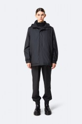 Rains Dame Quilted Parka - Black