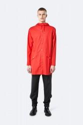 Rains Herre Long Jacket - Red