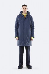 Rains Herre Padded Coat - Blue