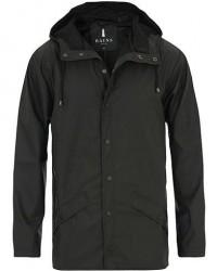Rains Jacket Black men XXS/XS Sort