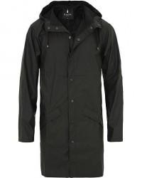 Rains Long Jacket Black men XXS/XS Sort