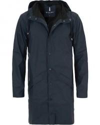 Rains Long Jacket Blue men S/M Blå