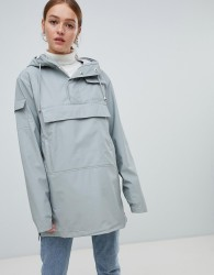 Rains Waterproof Camp Anorak - Stone