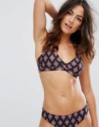 Raisins Rumour Has It Cut Out Bikini Top - Black