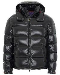 Ralph Lauren Purple Label Nylon Down Jacket Black men M