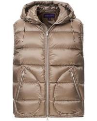 Ralph Lauren Purple Label Soft Nylon Down Vest Beige men XL Beige